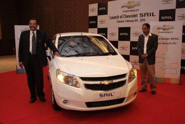 Chevrolet Sail launch in Chennai