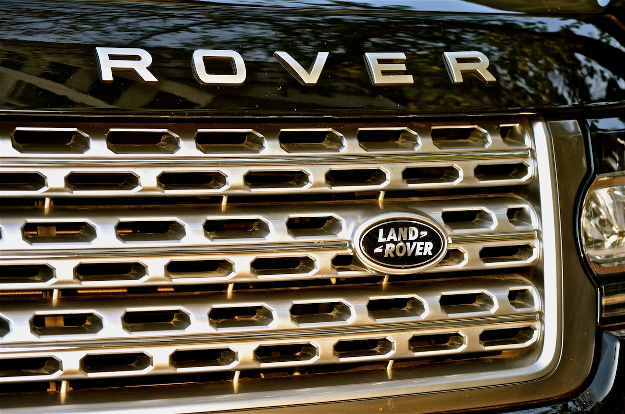 Range Rover front grille