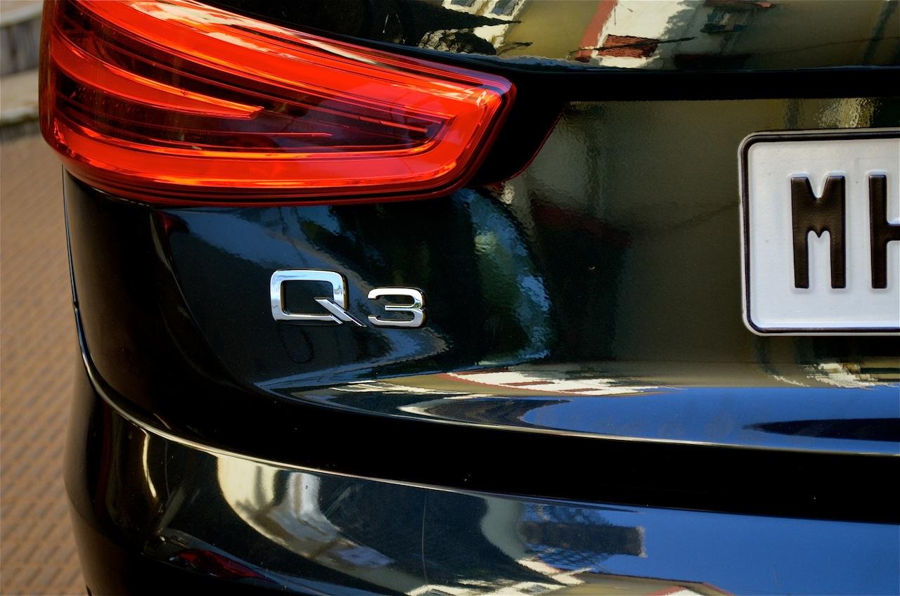 Rear 2 of Audi Q3 petrol