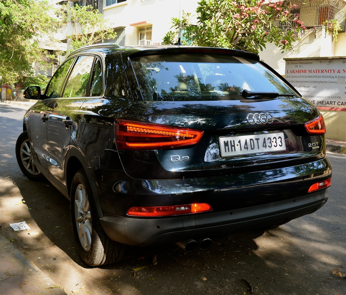 Review Of The Petrol Audi Q3 2.0 TFSI