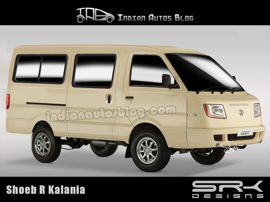 Ashok Leyland Dost passenger base version