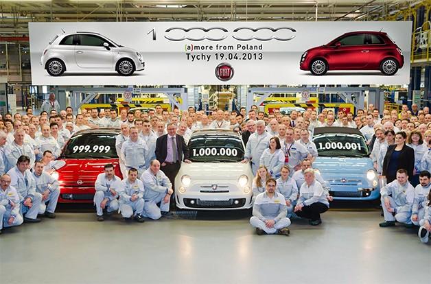 Fiat 500 production milestone