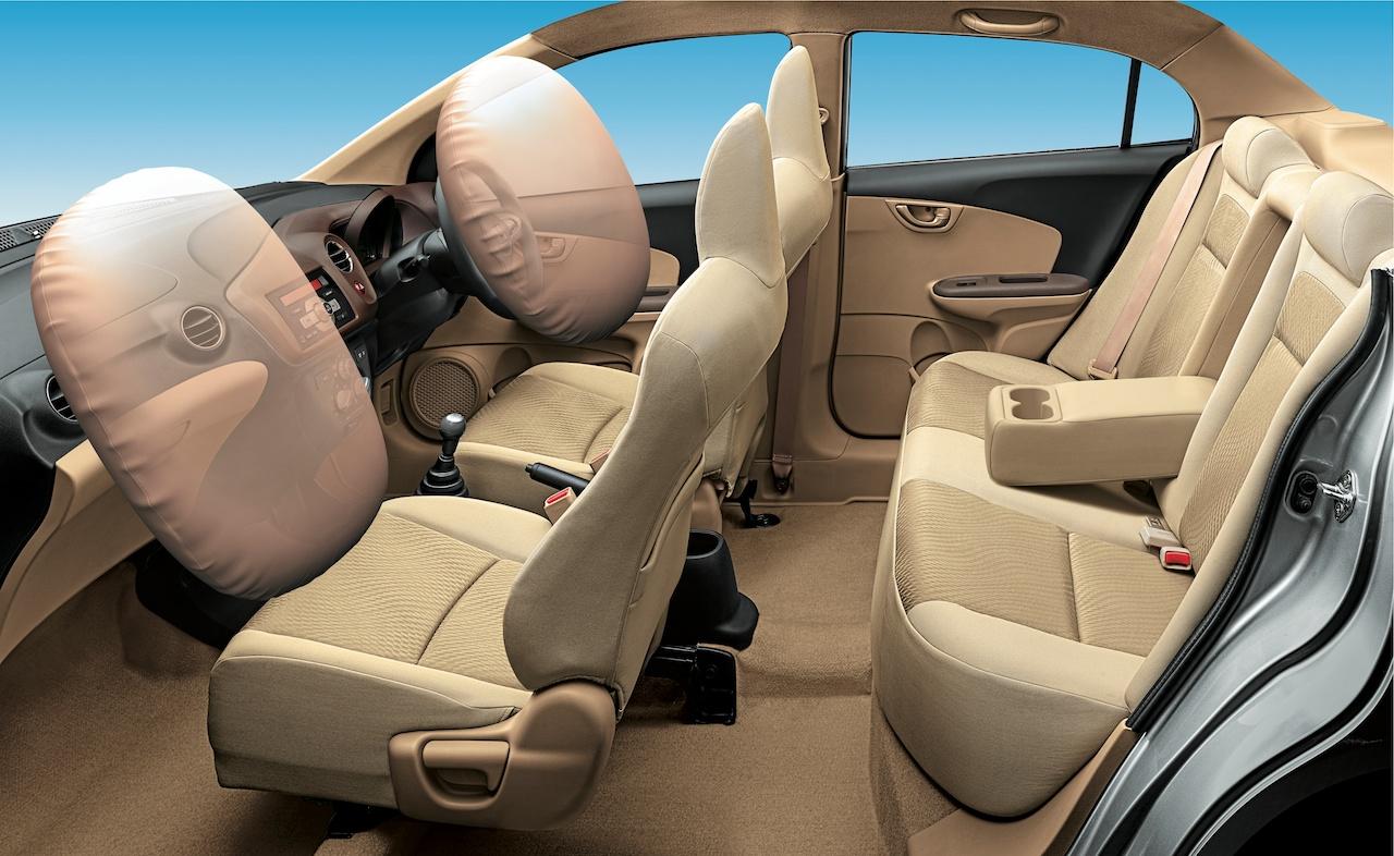 Honda Amaze airbags