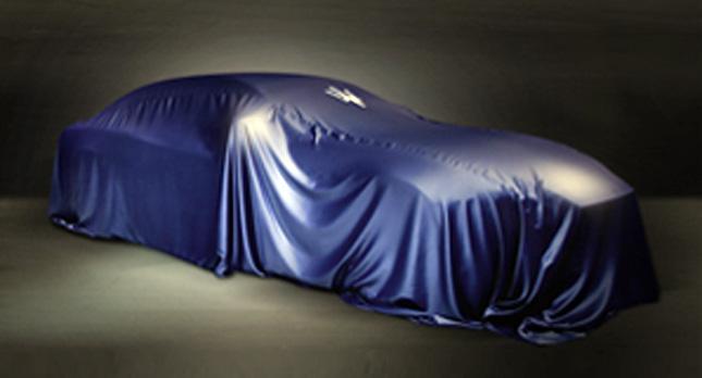 Maserati Ghibli teaser