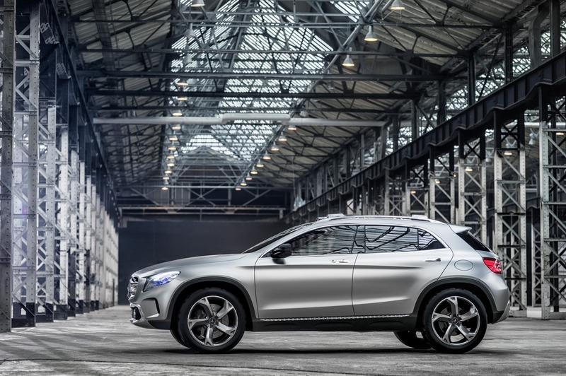 Mercedes GLA Concept official image side