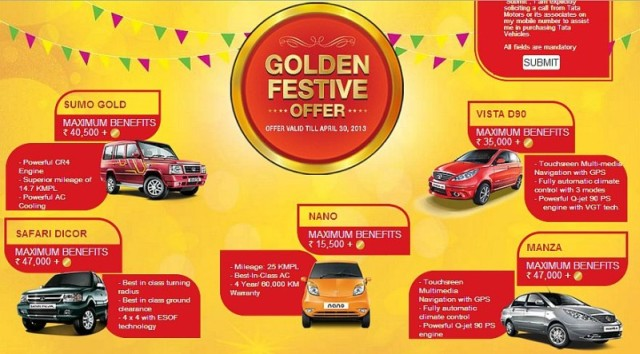 Tata motors golden offer