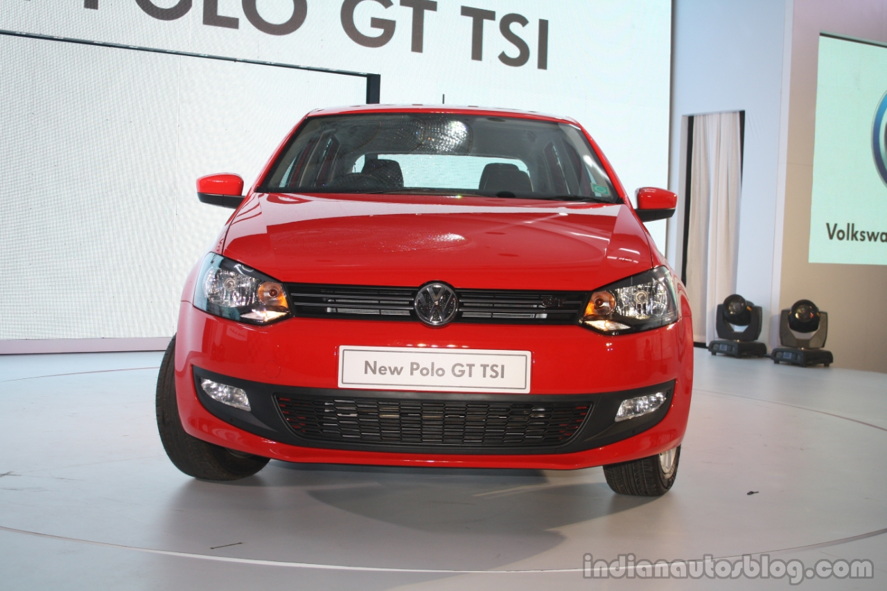 spied vw polo facelift caught in india for the first time. Black Bedroom Furniture Sets. Home Design Ideas