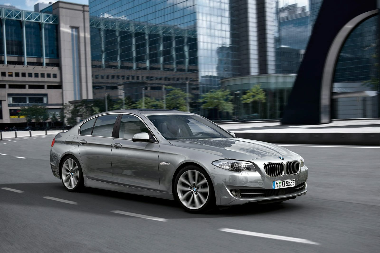 2014 Bmw 5 Series Facelift Revealed Again In China