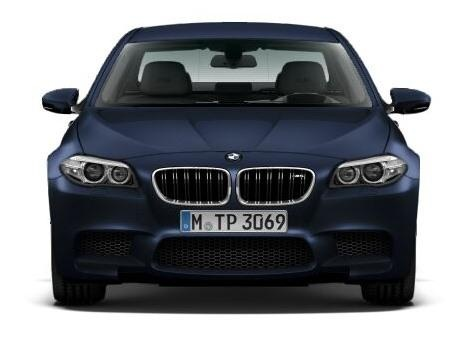 2014 BMW M5 front grille
