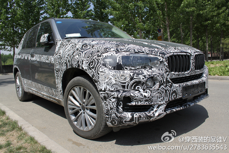2014 BMW X5 spotted in China