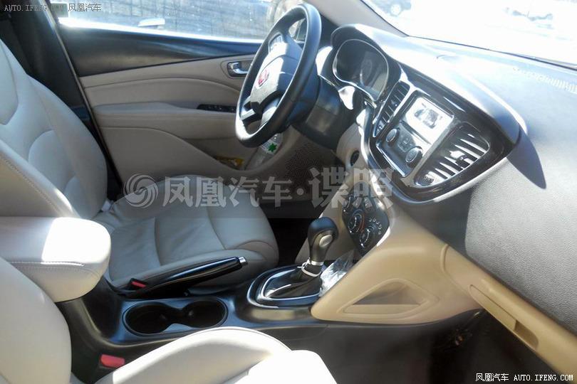 2014 Fiat Viaggio facelift interior