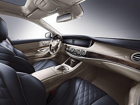 2014 Mercedes Benz S Class Edition 1 interior
