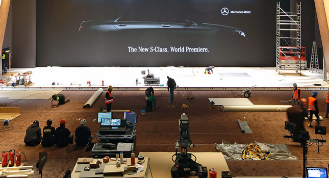 2014 Mercedes S Class unveiling