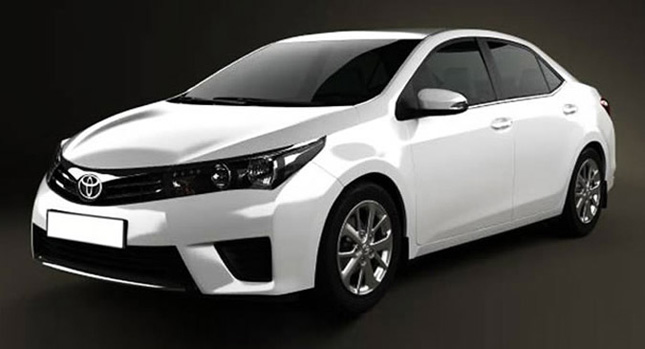 2014 Toyota Corolla render front