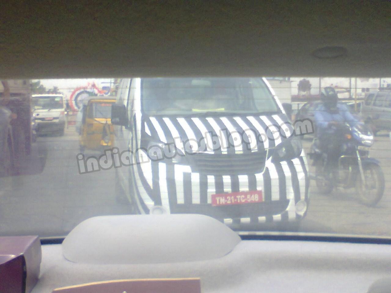 Ashok Leyland Stile spied Chennai front