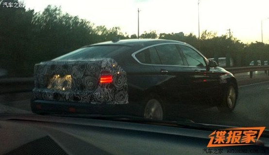 BMW 5 Series GT facelift spied