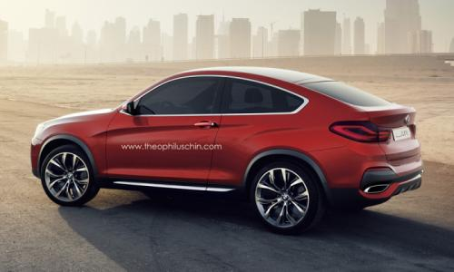 BMW X4 two door Coupe