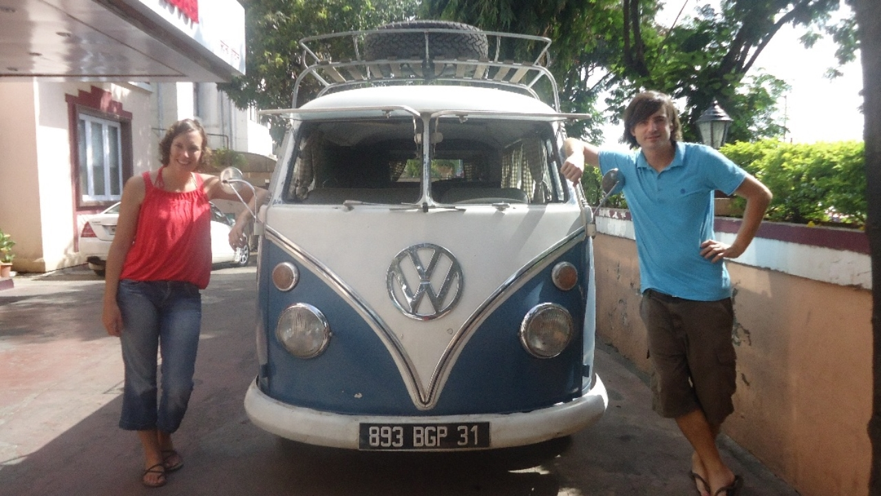 A Globe Trotting 1966 Volkswagen Vanagon Drops Into India