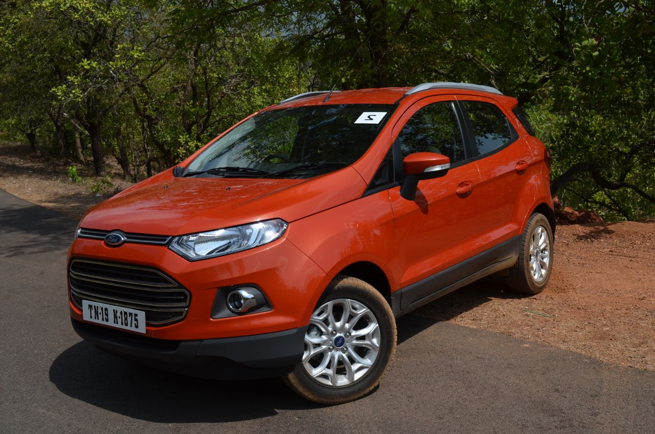 made in india ford ecosport reaches 1 lakh milestone. Black Bedroom Furniture Sets. Home Design Ideas