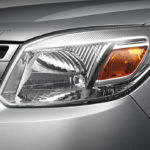 Ford Endeavour facelift head light