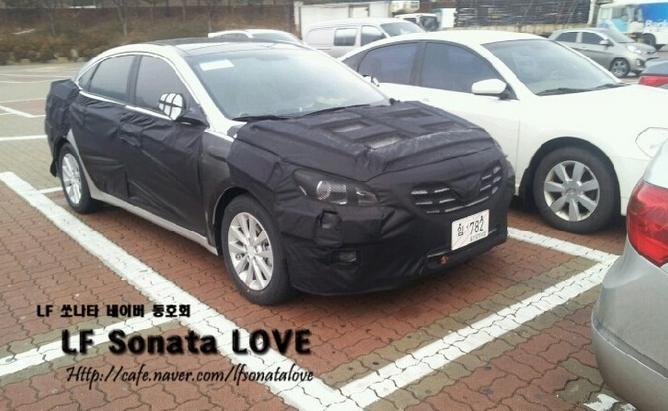 Hyundai Mistra Spied front three quarters
