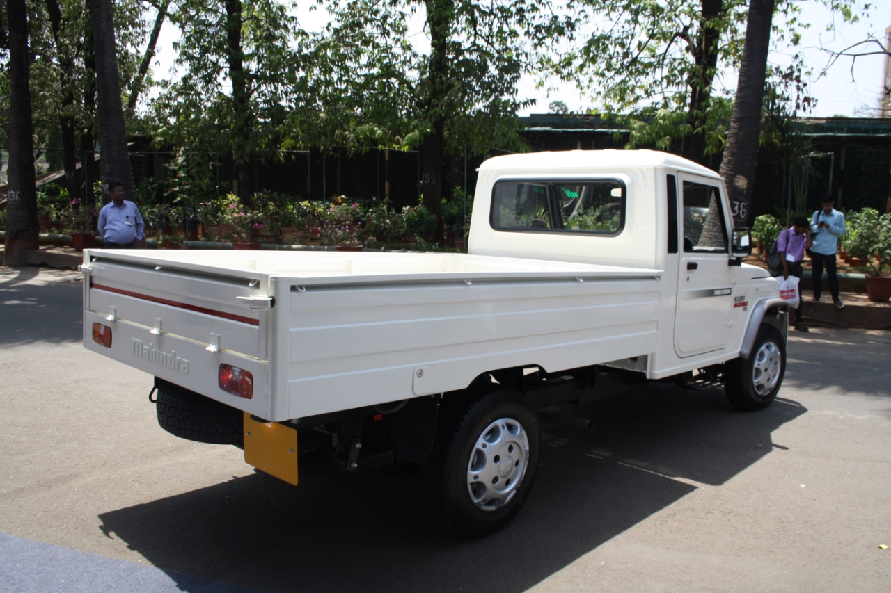 Mahindra Bolero Maxi Truck Plus Launched At Rs 4 33 Lakhs