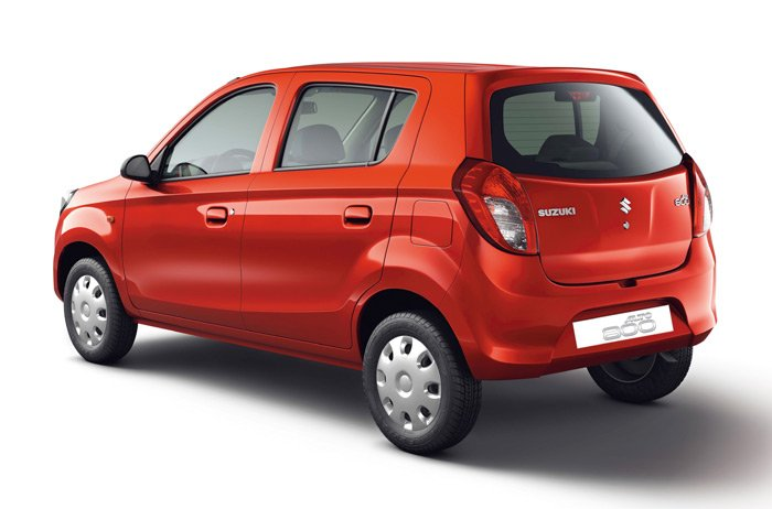Maruti Alto 800 Left Hand Drive rear