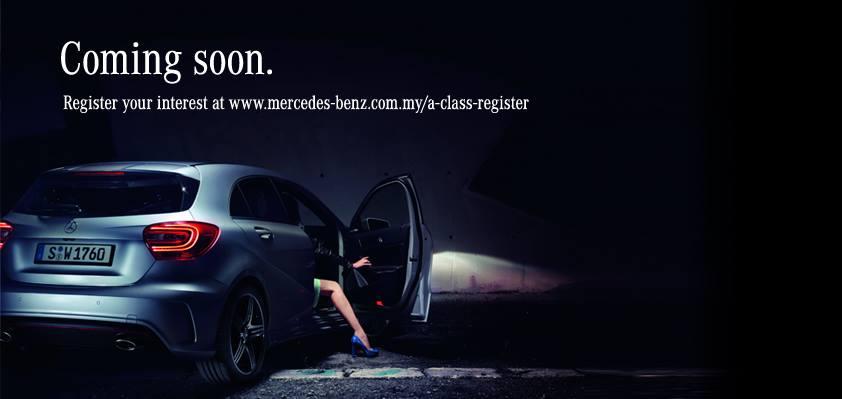 Mercedes Benz A Class Malaysia teaser