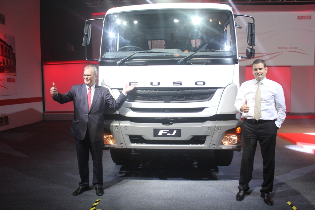 Mitsubishi FUSO truck made in India