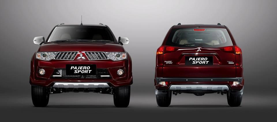 Mitsubishi Pajero Limited edition Indonesia red