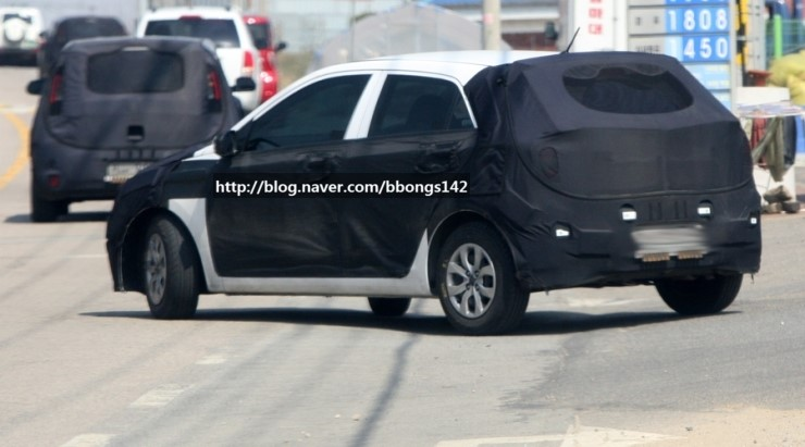 Next generation Hyundai i20 spied