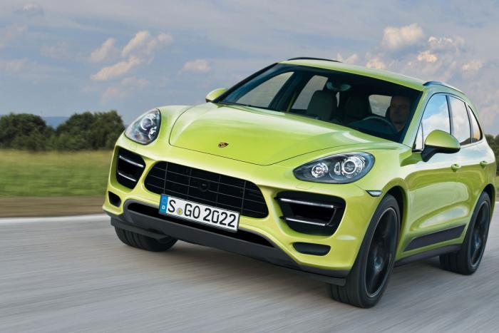 Porsche Macan rendering front