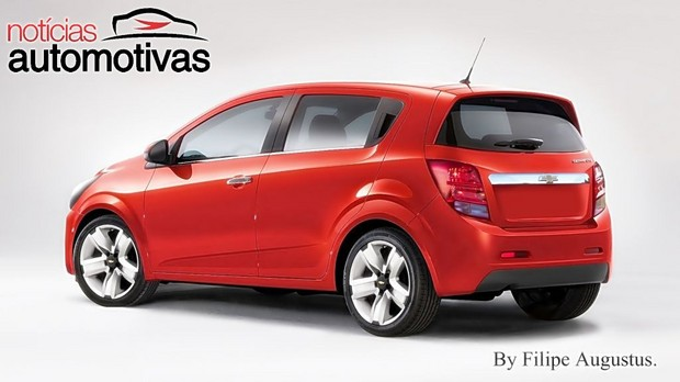 Refreshed Chevrolet Sonic hatchback rear