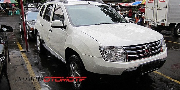 Renault Duster Indonesia spied