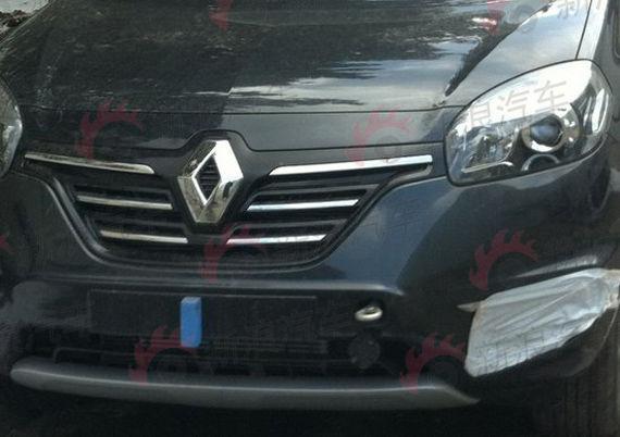 Renault Koleos facelift grill