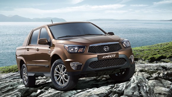 Ssangyong Actyon Sports updated
