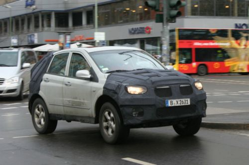 Ssangyong Actyon facelift front