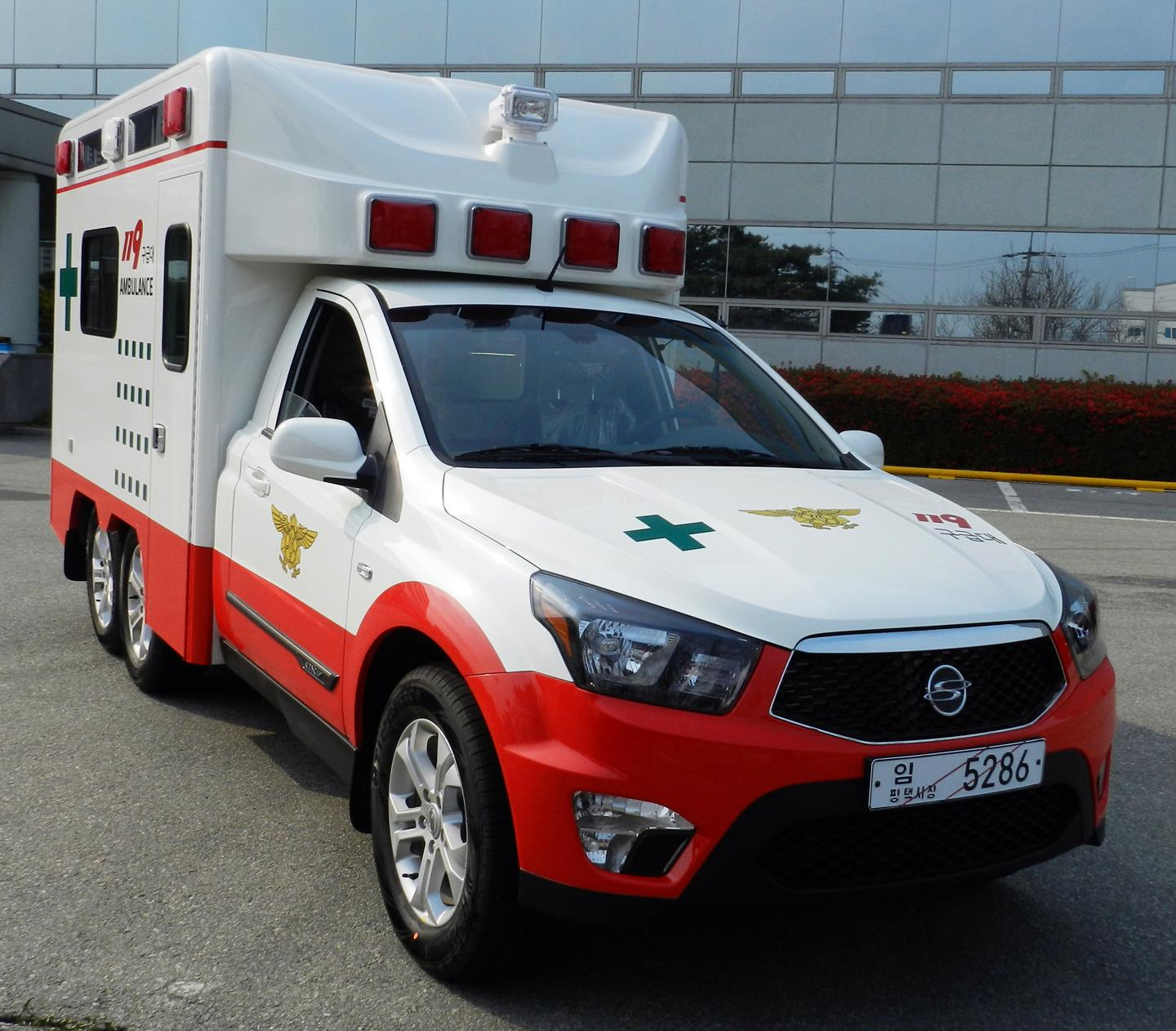 Ssangyong Korando Sports Ambulance application