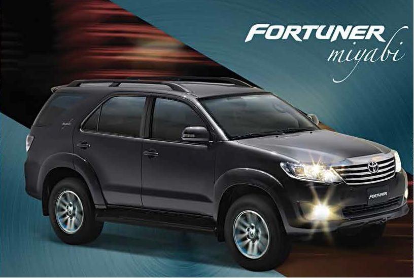 Toyota Fortuner Miyabi