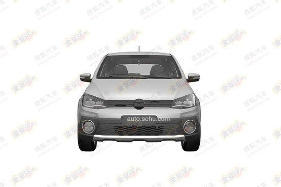 VW Cross Gol front