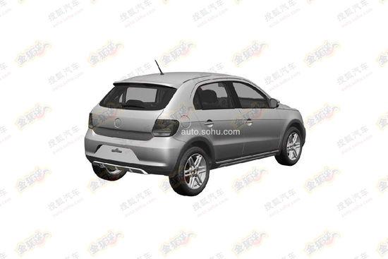 VW Cross Gol rear