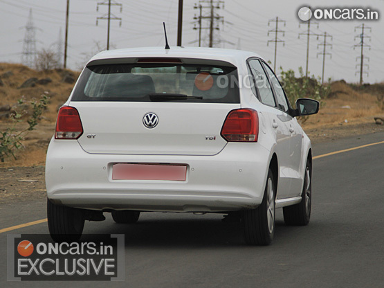 VW Polo GT TDI caught on test
