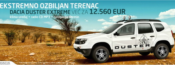 Dacia Duster extreme edition