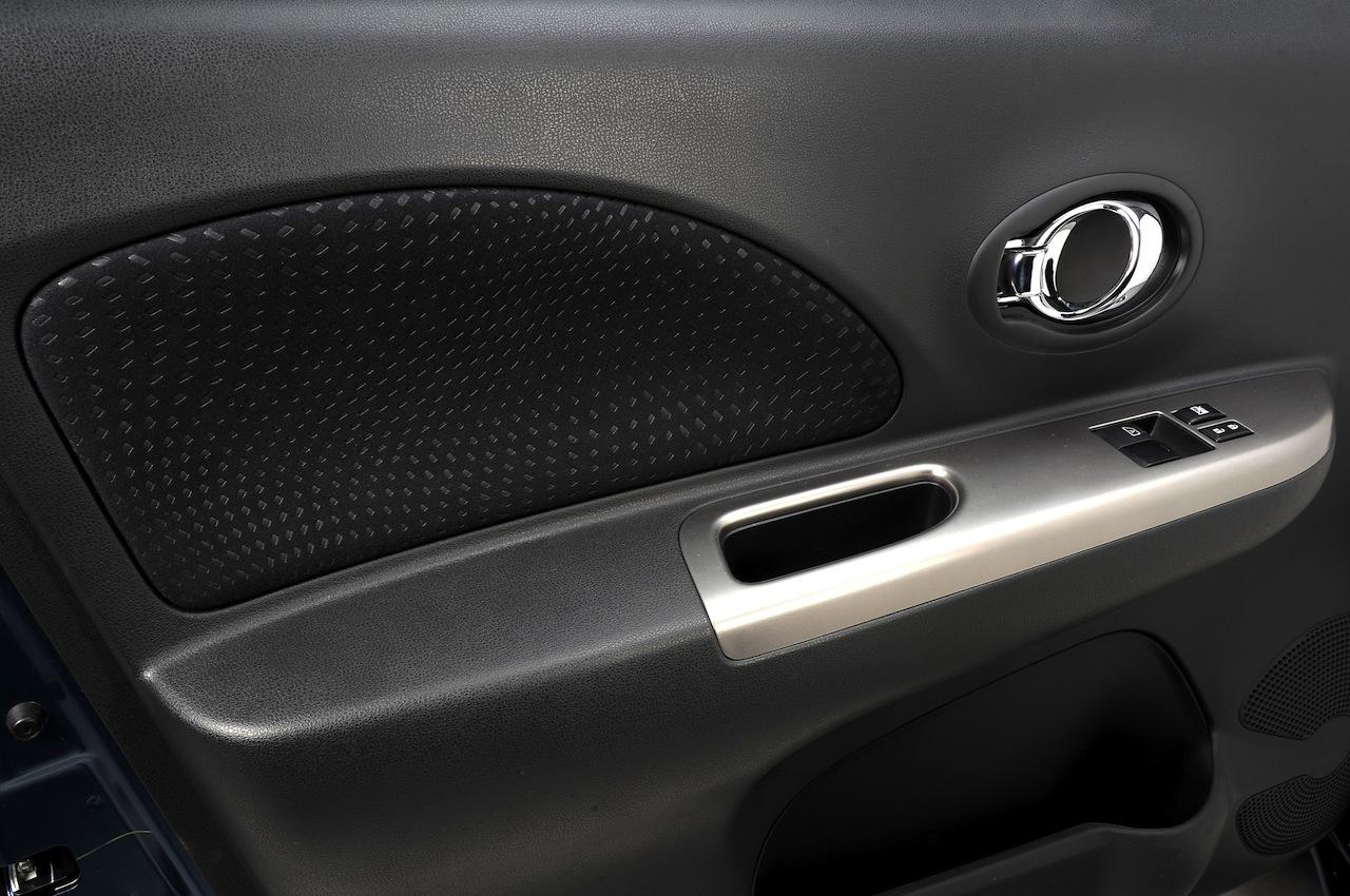 2013 Nissan Micra facelift door trim