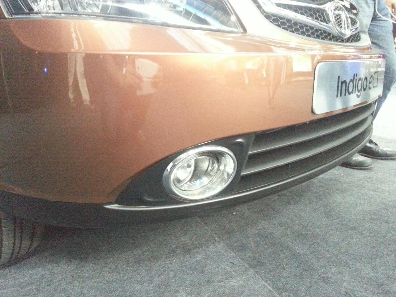 2013 Tata Indigo eCS foglight