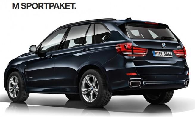 2014 BMW X5 M Sport rear