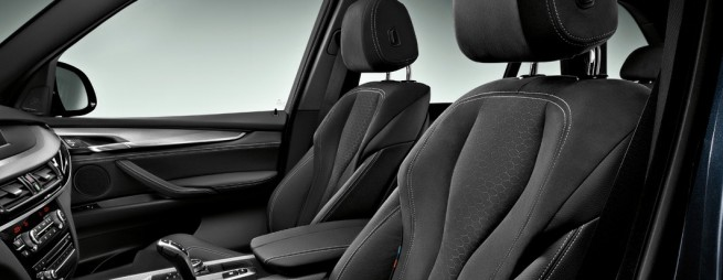 2014 BMW X5 M Sport seats