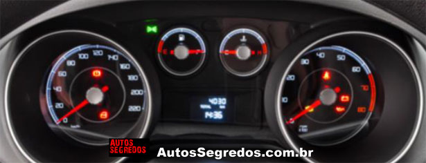 2014 Fiat Punto Brazil instrument cluster