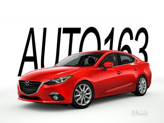 2014 Mazda3 sedan rendering