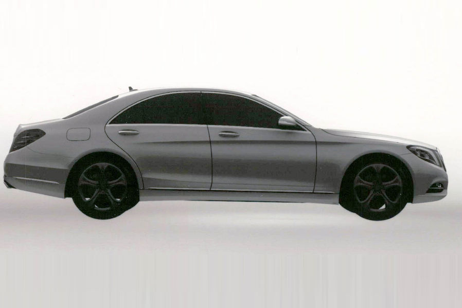 2014 Mercedes S Class S500 Hybrid Plus right side